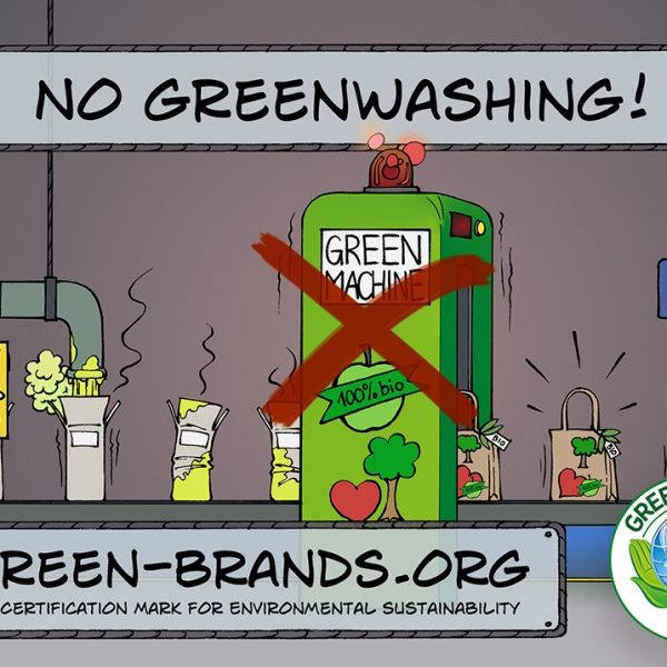 no-greenwashing-GREEN BRANDS cartoon