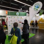 A nürnbergi BIOFACH kiállításon kollégánk a GREEN BRANDS védjegyet elnyert cégeket mutatja