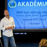 A GREEN BRANDS Akadémia harmadik alkalmán Wiszkidenszky András beszél