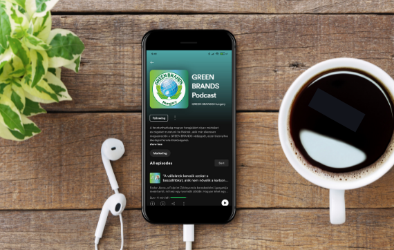 Indul a GREEN BRANDS Podcast