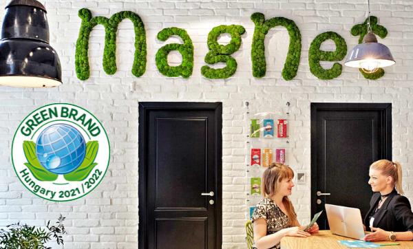 MagNet GREEN BRANDS védjegy